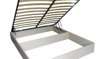Бельевой ящик для кровати с подъемным механизмом и ортопедическим